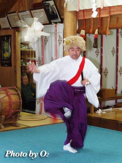 安浦稲荷神社 山神 2005