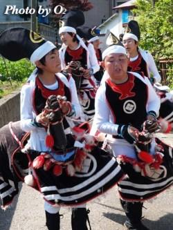 北海道 福島町 白符大神宮 渡御祭 郷土芸能 白符荒馬踊り