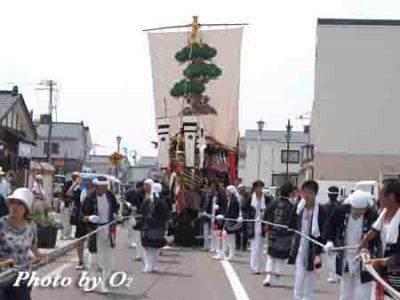 北海道,江差町,姥神大神宮渡御祭,北海道遺産,祭り,神社,平成17年,松寶丸