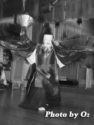 平成19年 湯倉神社 本祭 松前神楽 翁舞