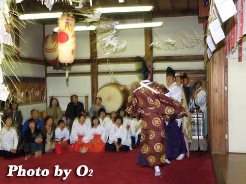平成19年 小樽市 小樽ブロック合同公演 小樽稲荷神社 〆引