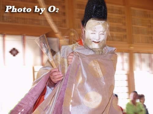 平成20年 鹿部町 鹿部稲荷神社本祭 松前神楽 翁舞