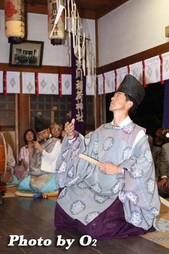 平成20年 函館市 豊川稲荷神社本祭 松前神楽 〆切り