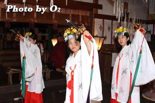 平成20年 函館市 豊川稲荷神社本祭 浦安の舞