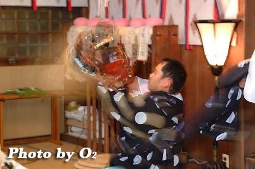 平成20年 函館市 豊川稲荷神社宵宮歳 松前神楽 十二の手獅子舞五方
