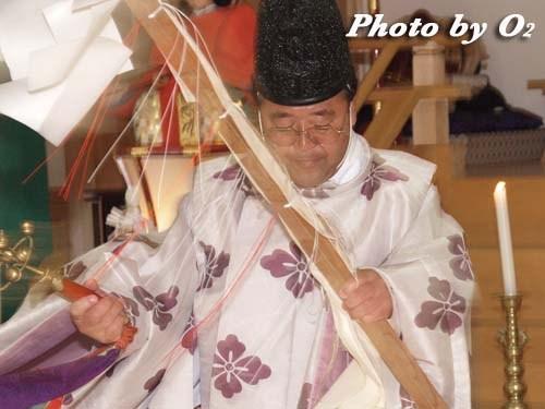 平成20年 鹿部町 本別稲荷神社 松前神楽 幣帛舞 榊舞