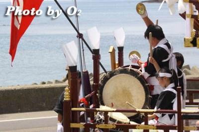 北海道,江差町,姥神大神宮渡御祭,山車,祭り,北海道遺産,上町巡幸,巡行