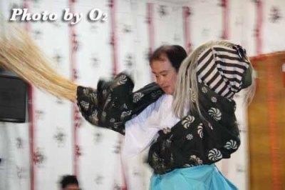 北海道 札幌 札幌村神社 神楽舞 獅子舞