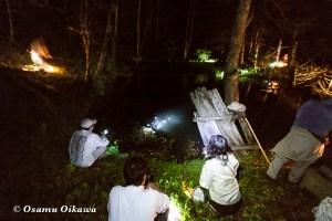 函館 赤沼本山妙要寺 うしみつ参り 2011 赤沼