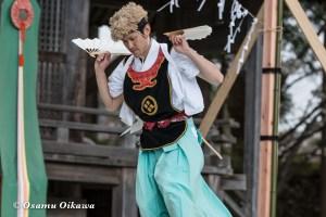 松前神楽合同公演 2016 荒馬舞