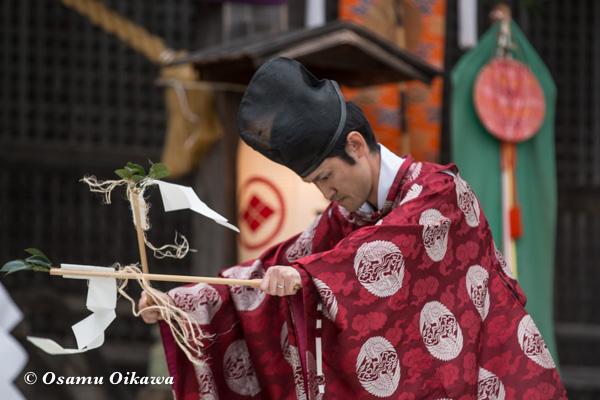 松前神楽合同公演 2016 福田舞
