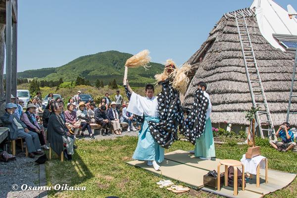ギャラリー日の丘 松前神楽 獅子舞 2016