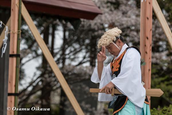松前神楽合同公演 2016 山神舞 小樽ブロック