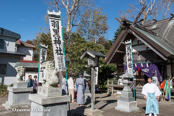 福島町 福島大神宮渡御祭 2日目 神社行列