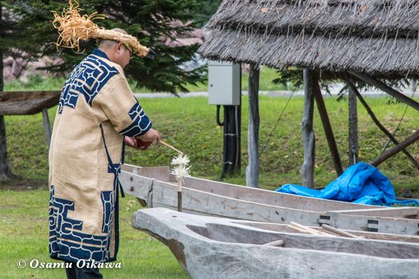 平成29年 平取町 二風谷 チプサンケ 祭式
