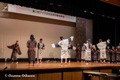 平成30年 平取町 第29回シシリムカアイヌ文化祭 子供の部 アイヌ古式舞踊2