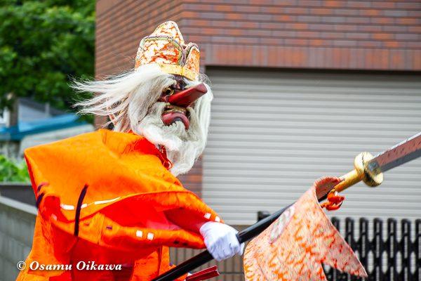平成30年 美国町 美国神社 例大祭 猿田彦