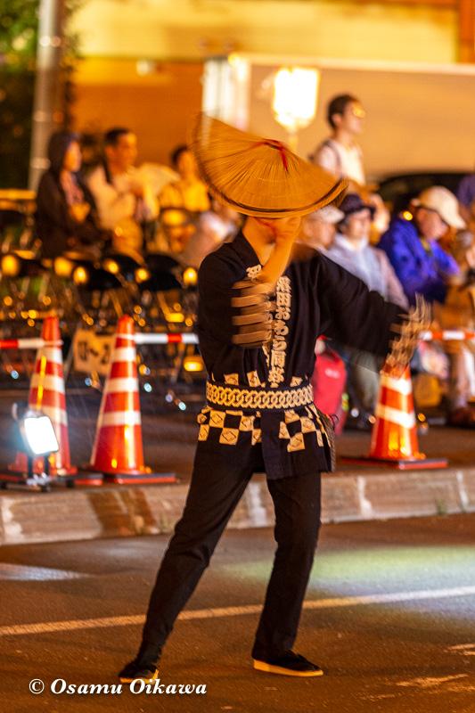 平成30年 沼田町 夜高あんどん祭り 初日 越中おわら踊り01