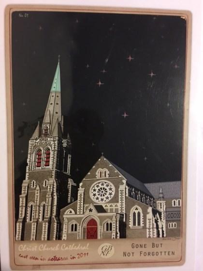 クライストチャーチ 大聖堂 カード