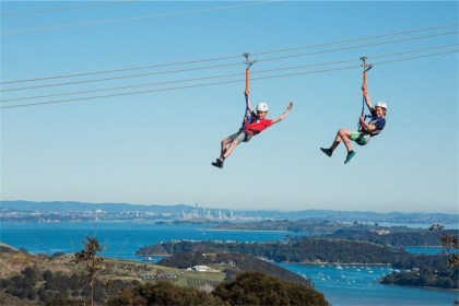 Waiheke Island Eco Zip Adventures