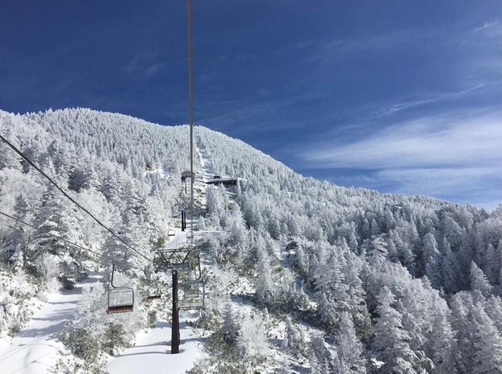 Mt.Yokote-Shibutoge SKI AREA in SHIGAKOGEN, Nagano, JAPAN Highest Skiarea in Japan