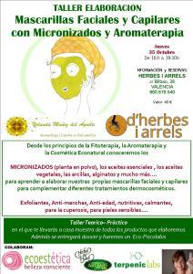 TALLER ELABORACION Mascarillas Faciales y Capilares con Micronizados y Aromaterapia @ Herbes i Arrels