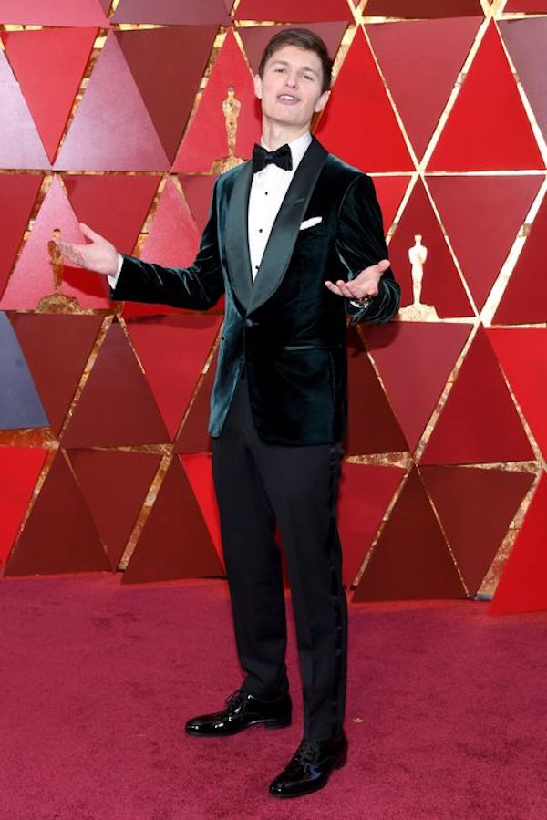 ansel-elgort-oscars-2018-getty-images