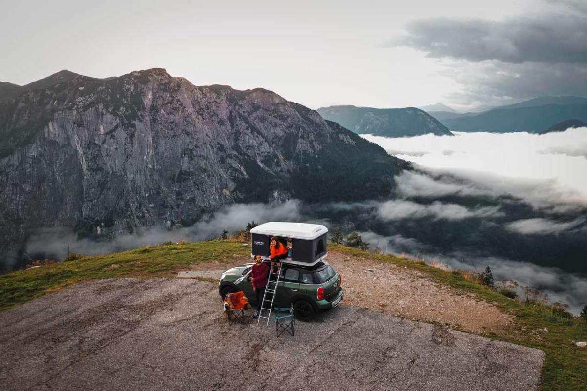 araç üstü çadır nedir?