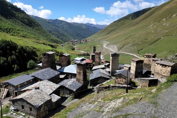 Svaneti bölgesi, Uşguli (Gürcistan)