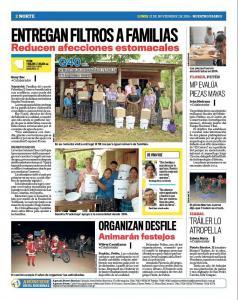 Nuestro Diario Petén Guatemala 211116