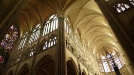 Interior gótico. Amiens