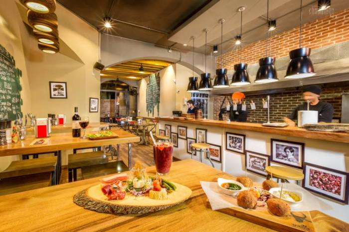 Yallas Tapas Bar is just one of many dining choices in Cabarete!