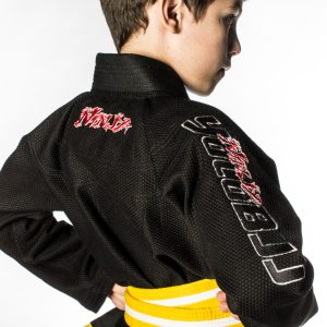 Ninja youth gi sleeve detail