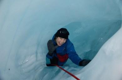 Ice caving!