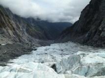 Glacial valley.