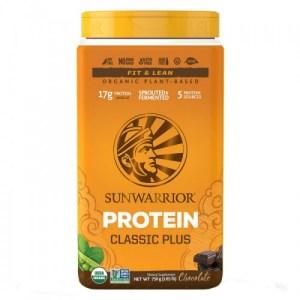 Protéine végétale de la marque sun warrior