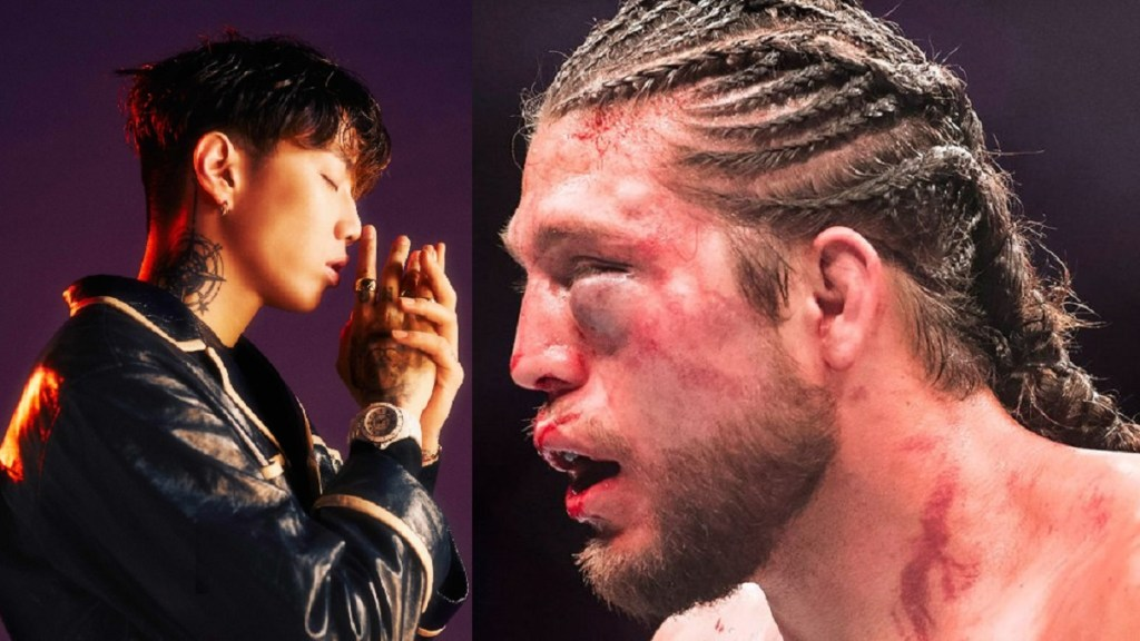 被揍後終於有所回應,Jay Park Freestyle 展現高超饒舌技巧,以文字技巧反擊Brian Ortega 14