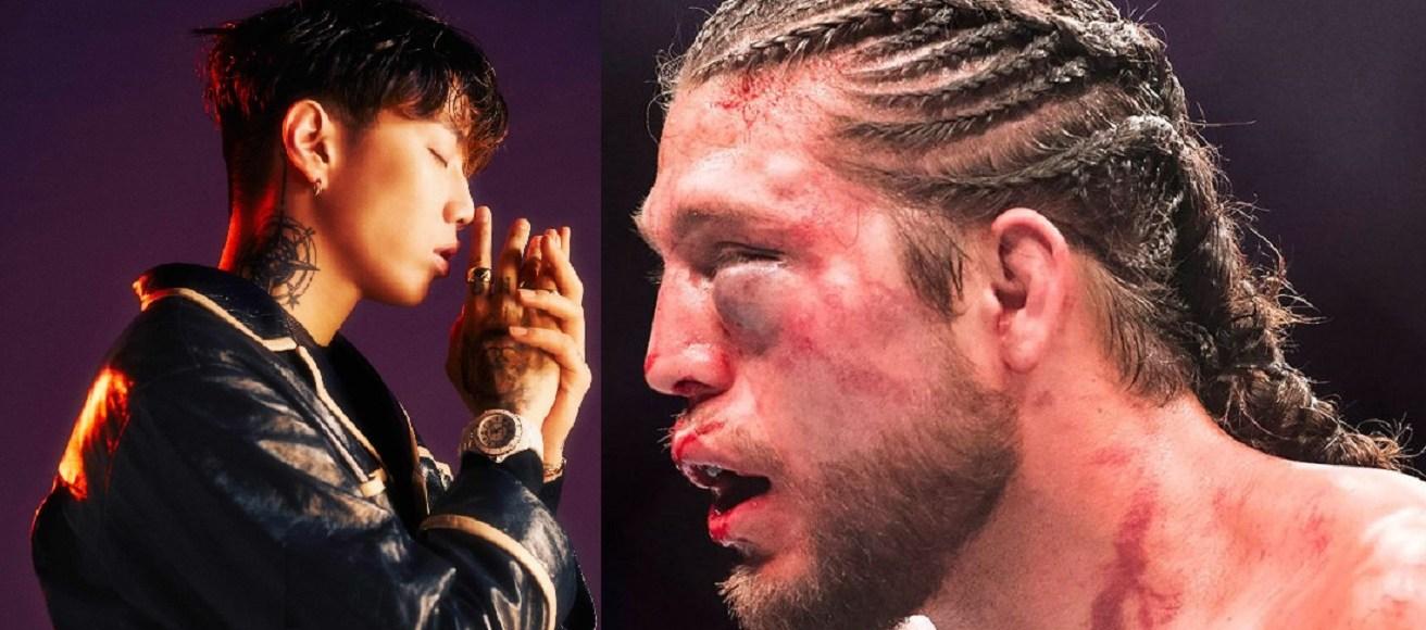 被揍後終於有所回應,Jay Park Freestyle 展現高超饒舌技巧,以文字技巧反擊Brian Ortega 4