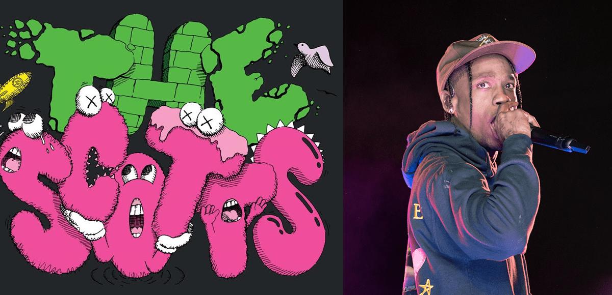 Travis Scott X Kid Cudi X KAWS 聯名!全新單曲《THE SCOTTS》一發,立馬超越 Billie 成為 2020 首日 Spotify 串流量最高單曲! 4