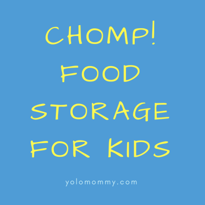 Chomp!-Food Storage for Kids