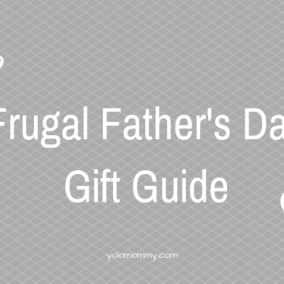 Frugal Father's Day Gift Guide