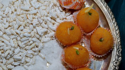 Ladoos and Lava are the this to eat this Diwali right after Pooja. #Photography