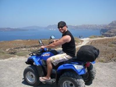 ATVing Santorini Island Greece
