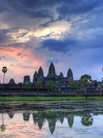 Angkor wat, sunrise, Angkor temples