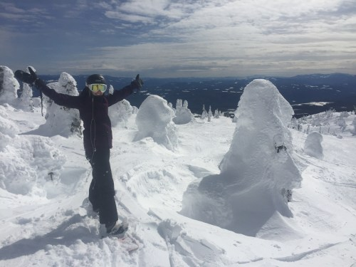 snowboarding Big White Canada