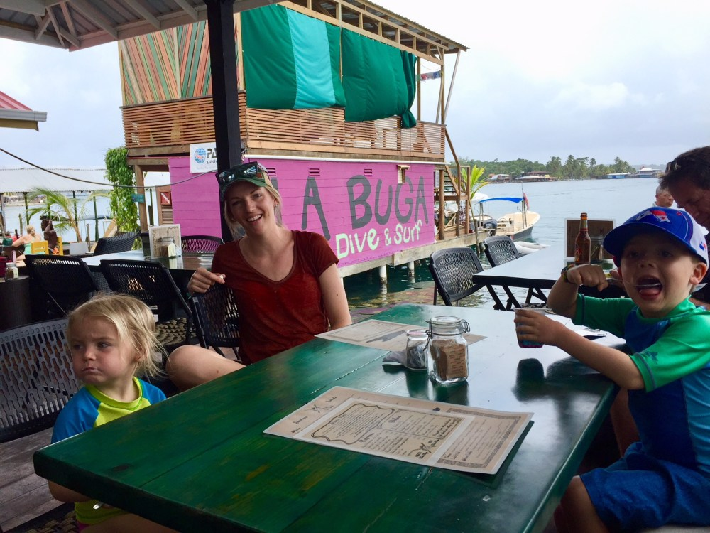 Bocas del Toro Panama with kids
