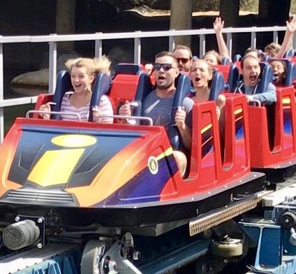 Incredicoaster Disney California Adventure