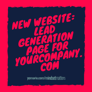 New Website_ Lead Generation Page for Yourcompany.com