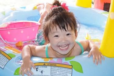 幼稚園のプールは咳だけ出ている場合でも休ませるようにしよう