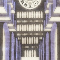 """エンデ『鏡のなかの鏡』より""""4.駅カテドラルは、灰青色の岩石からなる"""""""